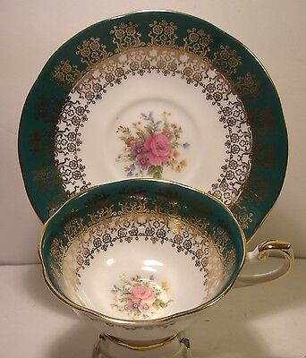Queens China Monarch Cabinet Cup And Saucer
