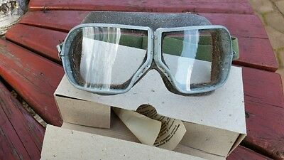 Authentic Soviet Army Aviation, Pilot, Tankman, Protective glasses, WW2