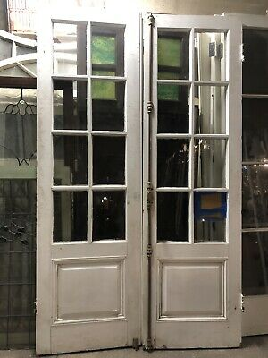 8 Light French Doors With Cramone Bolts Colonial Style