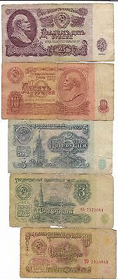 Rare Old CCCP Cold War Russia Dollar LENIN Bank Note Collection Cyber Monday Lot