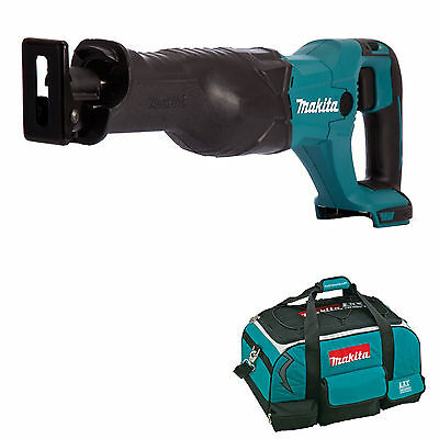 Makita 18V Lxt Djr186 Djr186Z Djr186Rfe Reciprocating Saw And 4 Piece Bag