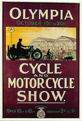 Mayfair Postcards.(112) ~ Olympia Cycle And Motor Cycle Show.