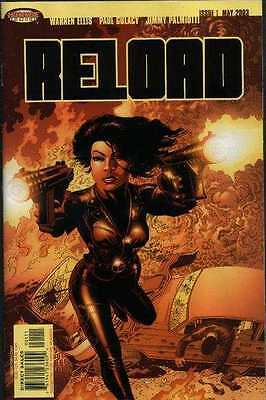 Reload #1 in Near Mint + condition. FREE bag/board