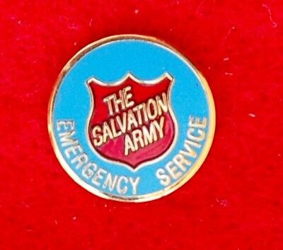 The Salvation Army Colored Enameled Emergency Service  Lapel Pin