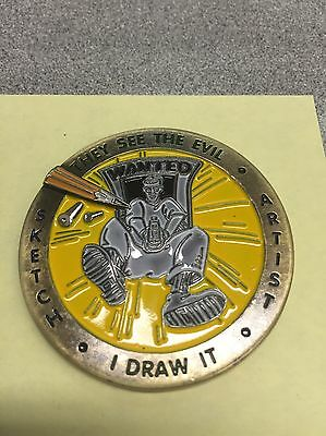 NYPD Sketch Artist Challenge Coin