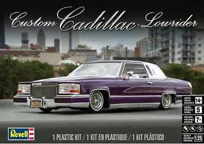 Revell 1/25 Custom Cadillac Lowrider PLASTIC MODEL KIT 854438