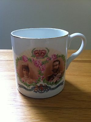 King George V & Queen Mary 1911 Commemorative Cup.