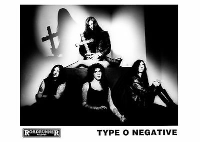 Type O Negative - Promo Press Photo 1990's - Peter Steele - Carnivore - Gothic