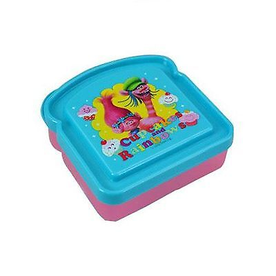 Dreamworks Trolls Sandwich Container Lunch Box - Poppy and Cooper