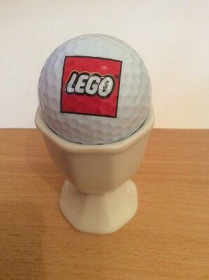 Collectable golf ball Lego LogoWith Mini figure On Back