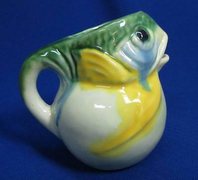 Open Mouth Bug Eyed Frog Cute Cream Pitcher