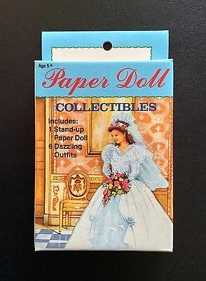 Small Boxed Set THE BRIDE Paper Dolls Collectibles, 1992, Uncut
