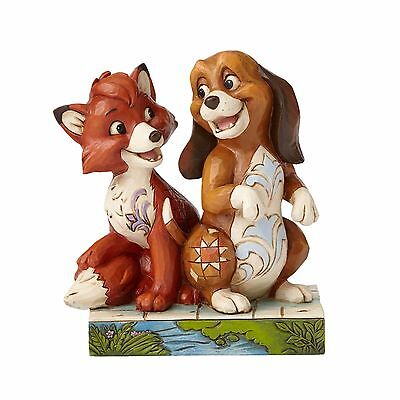 Jim Shore Disney Traditions Fox and the Hound 4055416 Unexpected Friendships NEW