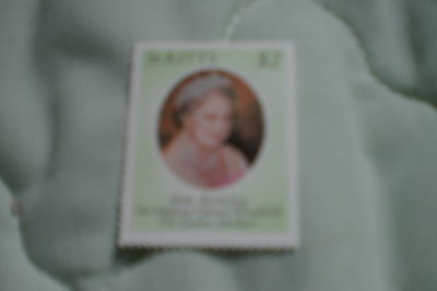 Nevis Stamps-Queen Mothers 80Th Birthday