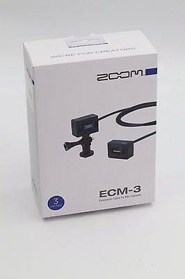 Zoom Ecm-3, Extension Cable, 3 M, New In Box