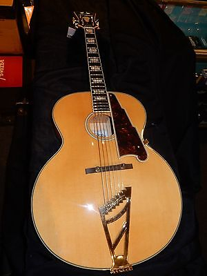 D'Angelico EX-63 Archtop Acoustic Guitar Natural