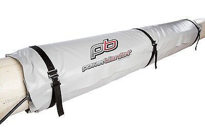 "Powerblanket Electric Pipe Heater Wrap 5' L x 10"" D 120v 400w/800w 90 degrees F"
