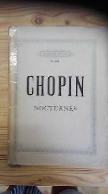 CHOPIN Nocturnes -  AUGENERS EDITION  No. 6094
