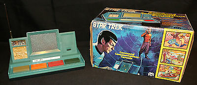 Star Trek Command Communications Console by MEGO (Tested / Works) 1976
