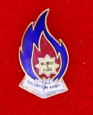 The Salvation Army Blood  And  Fire  Pin