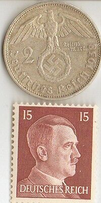 "**WWII -  ""SILVER"" - *us  and *german   coins/STAMPS  +  *free..."