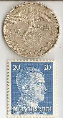 "*WW2 -  ""SILVER"" - *us  and *german   coins/STAMPS  +  *free..."