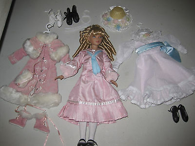 Tonner Alice in Wonderland Collection~ Alice Doll & Three Tonner Outfits