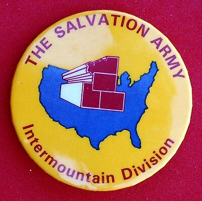Salvation Army Western Territory Intermountain Divisional Pin