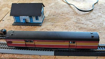 HO Southern Pacific # 6599 car Baggage Railway Express  car used excellent shape