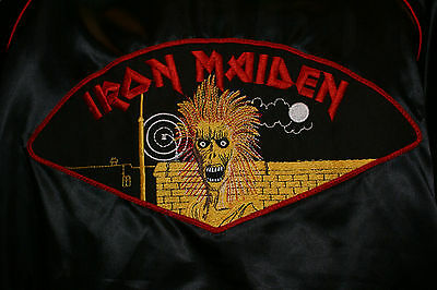 Iron Maiden Official Mint Never Used Killers 1981 Promotional Tour Jacket NWOBHM