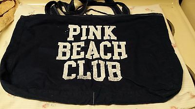 Victorias Secret Pink Beach Club Bag