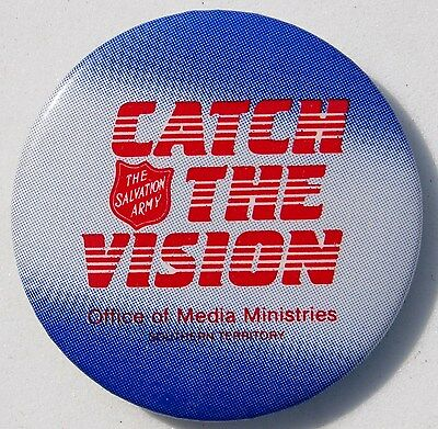 Obsolete Salvation Army Office Of Media Ministries 1½ Inch Pin