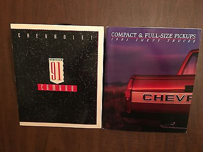 1991 Chevrolet Camaro & Compact/Full-Size Pickup SS-454 Original Sales Brochures