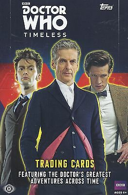 2016 Topps - Doctor Who - Timeless - Complete Base Set & Chase Cards Set