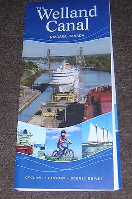 Tourist Pamphlet On The Welland Canal Niagara, Canada