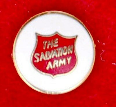 The Salvation Army Round Small Shield Pin