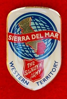 The Salvation Army Obsolete Sierra Del Mar Divisional Logo Pin
