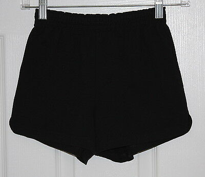 Soffe Black Sports Shorts Sz Youth Large Girl/Boy EUC