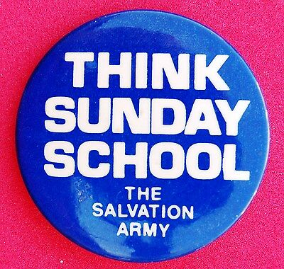 Salvation Army Sunday School Promotional Pin