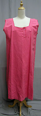 #16212, Pink 1880's Cotton Chemise