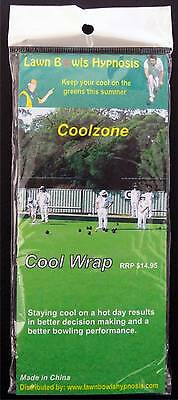 Lawn Bowls Coolzone Cooling Scarf Wrap