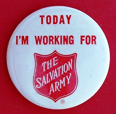 Salvation Army Volunteer Pin