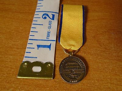 Vintage USMC Marine Corps China Relief Expedition Mini Medal Ribbon  H