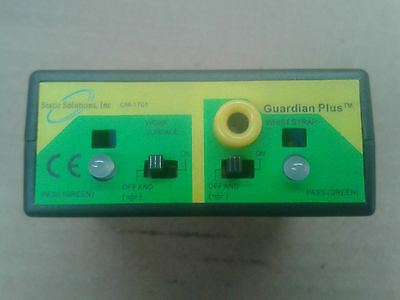 2X Static Solution Ohm Stat CM1701 Guardian ESD Constant Monitor, Guardian plus