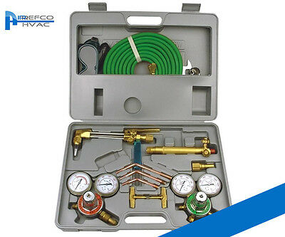Oxy / ACET Professional Gas Cutting And Welding Kit - Acetylene  -  Oxy Set