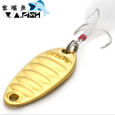 JUYANG Metal Lure Fat Worm Spinning and Casting Slug With Single Japanese Hook