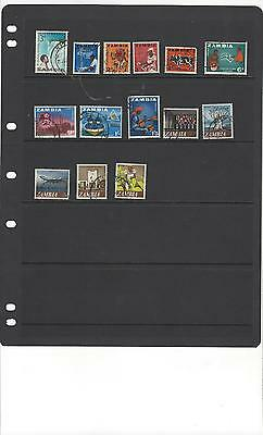 Zambia POSTALLY USED - stock page album lot collection hoard