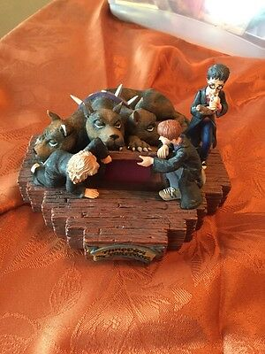 Harry Potter... sorcerers stone. Through The Trap Door light up Statue . Fluffy