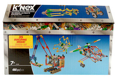 Knex 12418 Box with 480 plug-in - play - stones for 35 Models Building bricks