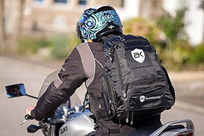 Revolution BackPack RuckSack For Motorcycles & Motorbikes By Autokicker®